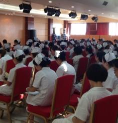三六三医院举行2013年护士业务培训