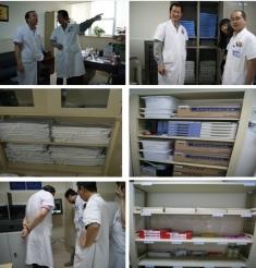 临床、医技样板区6S管理初见成效