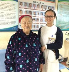 你的微笑 冬日里最温暖的阳光 ——三六三医院护士用阳光微笑和优质护理收获忠实粉丝