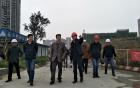 三六三医院领导班子及中层干部参观考察犀浦院区项目