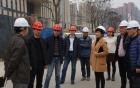 郫都区政府部门领导莅临三六三医院犀浦院区项目现场指导工作