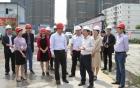 郫都区委主要领导莅临犀浦院区项目现场调研指导工作